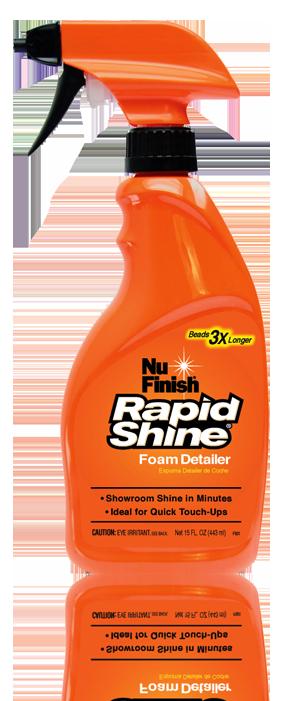 Dung Dịch Xịt Bóng Nhanh Xe Hơi Nu Finish Rapid Shine NFR-12